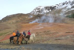hot springs & horse riding