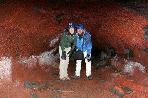 caving tour iceland