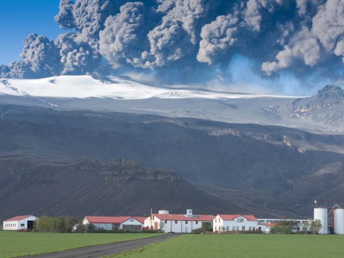 eyjafjallajokull eruption south iceland