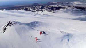 glacier snowmobiling tour