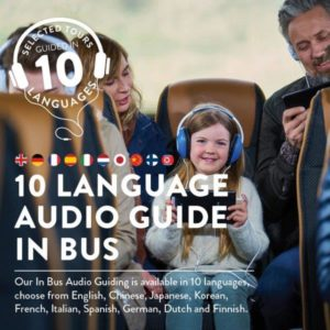 10 language audio guide