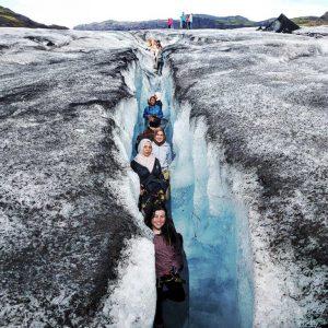 glacier climb iceland