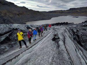 glacier walk solheimajokull