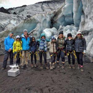glacier expedition on solheimajokull