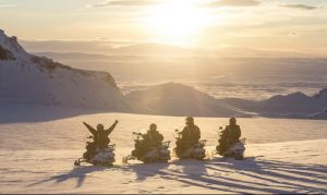 snowmobile langjokull