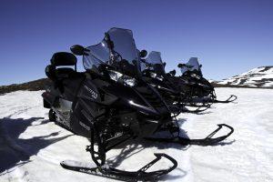 Snowmobiling Myvatn