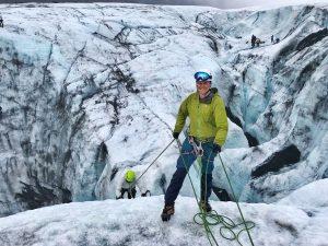 Skaftafell ice climb