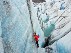 Skaftafell ice climbe