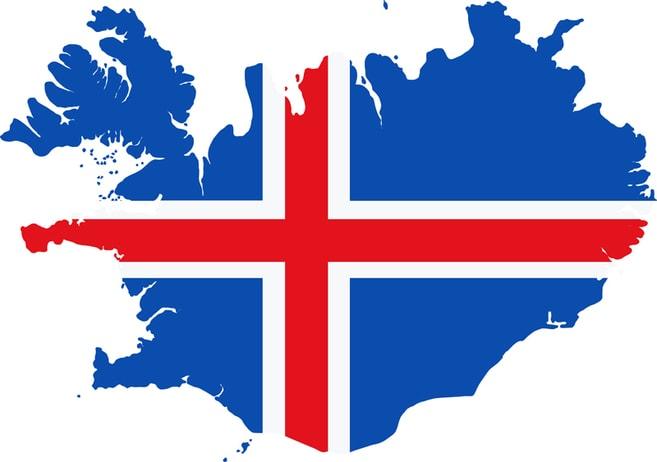 Flag Iceland HM