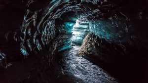 ice cave iceland from vik
