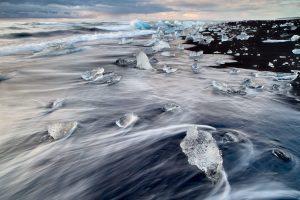 diamond beach iceland - 2 day south coast tour