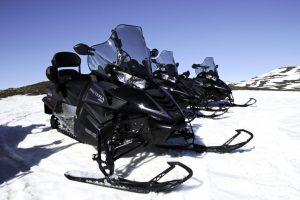Snowmobile Myvatn
