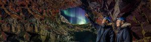 Lava tunnel tour