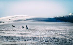 snowmobile langjokull