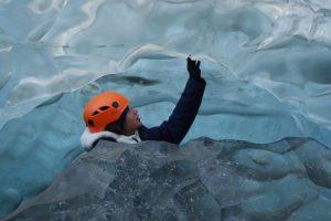 Crystal ice cave tour - vatnajokull iceland