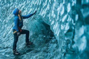 Skaftafell blue ice