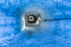 Langjokull tunnel