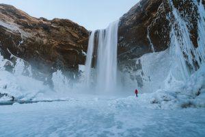 Skogafoss Winter