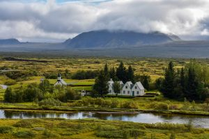 Thingvellir Houses Summer