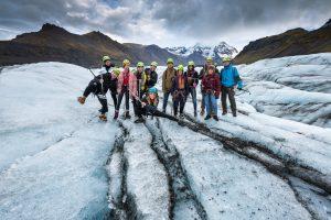 Skaftafell 3-hour glacier walk vatnajokull hiking tour Glacier