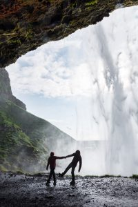 Valentine's Seljalandsfoss Iceland