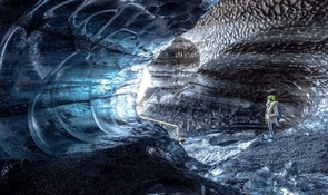 Dragon Glass Katla Ice Cave | Under Myrdalsjokull Glacier | Super Jeep Tour from Vik​