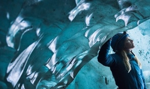 Skaftafell Blue Ice Cave Adventure & Glacier Hike | Small Groups - Iceland