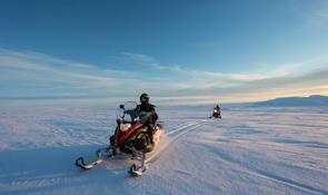 Snowmobile + Ice Cave | Into the Glacier
