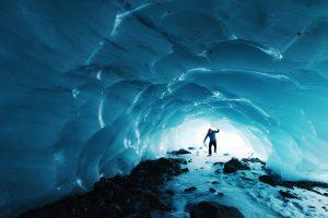 blue ice cave tour