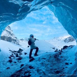 Skaftafell ice cave 2020