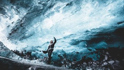 2 Day Blue Ice Cave & South Coast | Glacier Hike, Jokulsarlon & Northern Lights