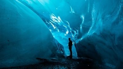 3 Day Blue Ice Cave, South Coast, Golden Circle & Northern Lights