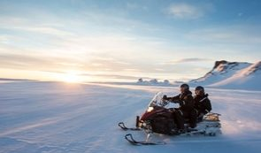Glacier Snowmobiling from Reykjavik
