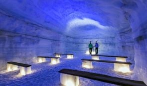 Into & Above the Glacier | Snowmobile & Ice Cave from Reykjavik