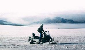 Snowmobile on Langjökull Glacier | Meet at Gullfoss